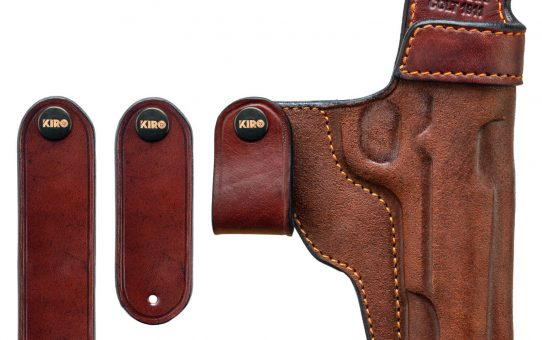 KIRO Reholster IWB Dark Brown Front